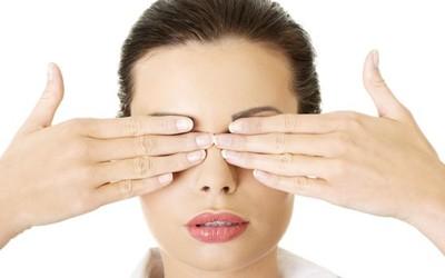Bài tập tạo nhiệt cho mắt