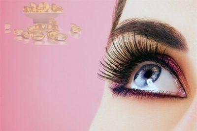 Lông mi giúp bảo vệ mắt tránh được những tác nhân có hại từ môi trường