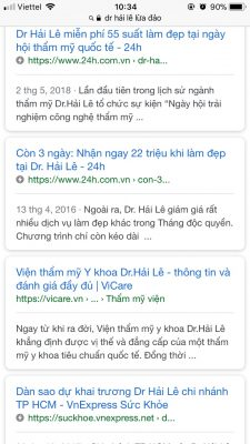 Dr Hải Lê Có lừa đảo hay không?